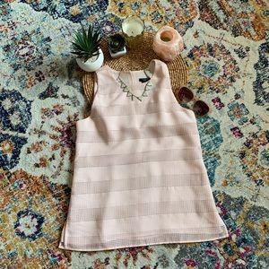 Ann Taylor Factory Petite Pink Tank Top (XS)